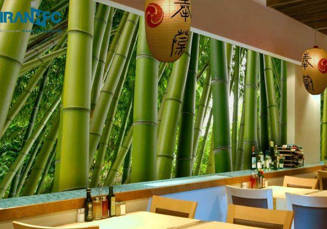کاغذ دیواری در فست فود و رستوران