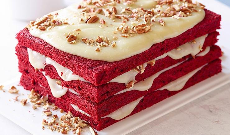 طرز تهیه کیک ردولولت