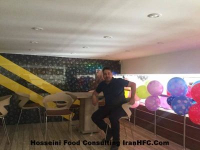 iranhfc,راه اندازی فست فود,مهندس عباس حسینی,تجهیزات فست فود
