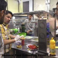 راه اندازی فست فود IRANHFC عباس حسینی