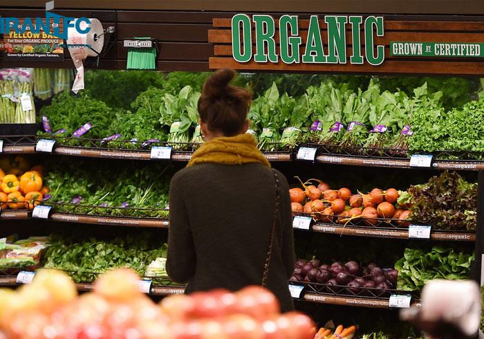 محصولات ارگانیک در رستوران