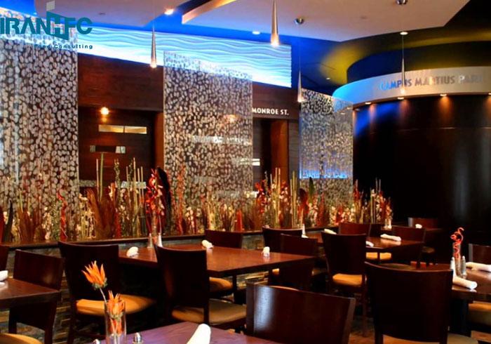 اهمیت ۳DMAX در طراحی دکوراسیون فست فود کافی شاپ و رستوران ایتالیایی